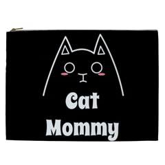 Love My Cat Mommy Cosmetic Bag (xxl)  by Catifornia