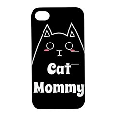 Love My Cat Mommy Apple Iphone 4/4s Hardshell Case With Stand by Catifornia