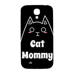 Love My Cat Mommy Samsung Galaxy S4 I9500/i9505  Hardshell Back Case by Catifornia
