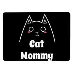Love My Cat Mommy Samsung Galaxy Tab Pro 12 2  Flip Case by Catifornia