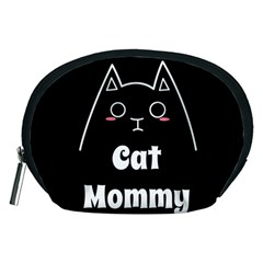 Love My Cat Mommy Accessory Pouches (medium)  by Catifornia