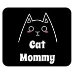 Love My Cat Mommy Double Sided Flano Blanket (Small)  50 x40  Blanket Front