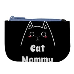 Love My Cat Mommy Large Coin Purse