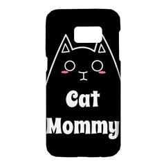 Love My Cat Mommy Samsung Galaxy S7 Hardshell Case  by Catifornia