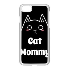 Love My Cat Mommy Apple Iphone 7 Seamless Case (white) by Catifornia