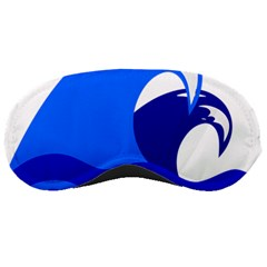 Blue Beach Sea Wave Waves Chevron Water Sleeping Masks by Mariart