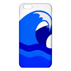 Blue Beach Sea Wave Waves Chevron Water Iphone 6 Plus/6s Plus Tpu Case by Mariart