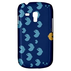 Blue Fish Sea Beach Swim Yellow Predator Water Galaxy S3 Mini by Mariart