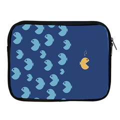 Blue Fish Sea Beach Swim Yellow Predator Water Apple Ipad 2/3/4 Zipper Cases by Mariart