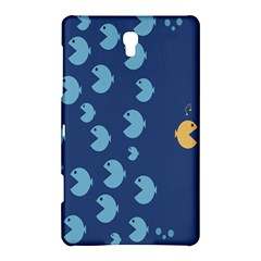 Blue Fish Sea Beach Swim Yellow Predator Water Samsung Galaxy Tab S (8 4 ) Hardshell Case  by Mariart