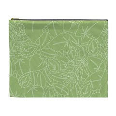 Blender Greenery Leaf Green Cosmetic Bag (xl) by Mariart
