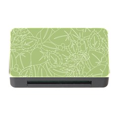 Blender Greenery Leaf Green Memory Card Reader With Cf by Mariart