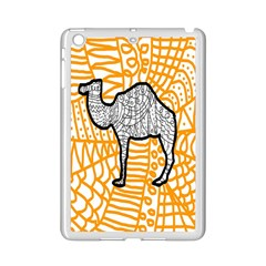 Animals Camel Animals Deserts Yellow Ipad Mini 2 Enamel Coated Cases by Mariart