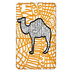 Animals Camel Animals Deserts Yellow Samsung Galaxy Tab Pro 8 4 Hardshell Case by Mariart
