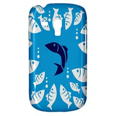 Blue Fish Tuna Sea Beach Swim White Predator Water Galaxy S3 Mini by Mariart