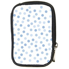 Bubble Balloon Circle Polka Blue Compact Camera Cases by Mariart