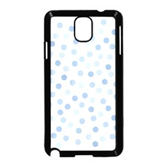 Bubble Balloon Circle Polka Blue Samsung Galaxy Note 3 Neo Hardshell Case (black) by Mariart