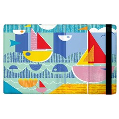 Boats Ship Sea Beach Apple Ipad 3/4 Flip Case by Mariart