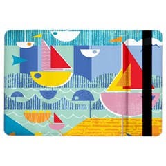 Boats Ship Sea Beach Ipad Air 2 Flip by Mariart