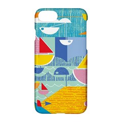 Boats Ship Sea Beach Apple Iphone 7 Hardshell Case by Mariart