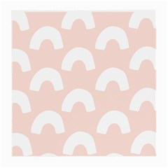 Donut Rainbows Beans Pink Medium Glasses Cloth by Mariart