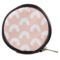 Donut Rainbows Beans Pink Mini Makeup Bags by Mariart
