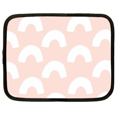 Donut Rainbows Beans Pink Netbook Case (xl)  by Mariart