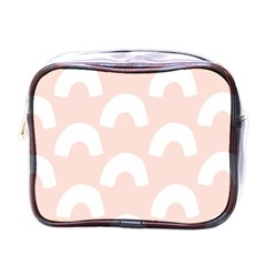 Donut Rainbows Beans Pink Mini Toiletries Bags by Mariart