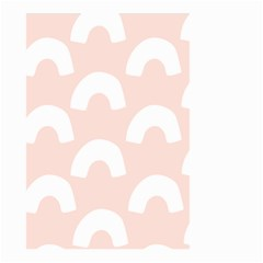 Donut Rainbows Beans Pink Small Garden Flag (two Sides) by Mariart