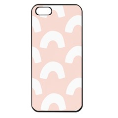 Donut Rainbows Beans Pink Apple Iphone 5 Seamless Case (black) by Mariart
