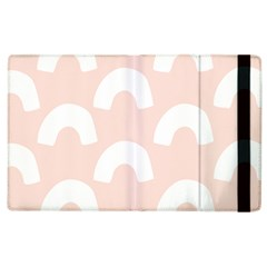Donut Rainbows Beans Pink Apple Ipad 3/4 Flip Case by Mariart
