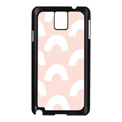 Donut Rainbows Beans Pink Samsung Galaxy Note 3 N9005 Case (black) by Mariart