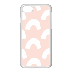 Donut Rainbows Beans Pink Apple Iphone 7 Seamless Case (white) by Mariart
