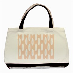 Donut Rainbows Beans White Pink Food Basic Tote Bag by Mariart