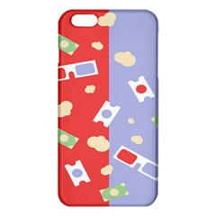Glasses Red Blue Green Cloud Line Cart Iphone 6 Plus/6s Plus Tpu Case by Mariart