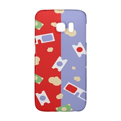 Glasses Red Blue Green Cloud Line Cart Galaxy S6 Edge by Mariart