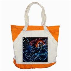 Fish Out Of Water Monster Space Rainbow Circle Polka Line Wave Chevron Star Accent Tote Bag by Mariart