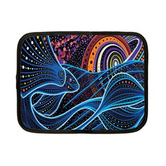 Fish Out Of Water Monster Space Rainbow Circle Polka Line Wave Chevron Star Netbook Case (small)  by Mariart