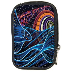 Fish Out Of Water Monster Space Rainbow Circle Polka Line Wave Chevron Star Compact Camera Cases by Mariart