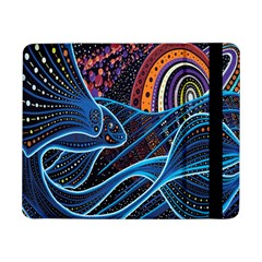 Fish Out Of Water Monster Space Rainbow Circle Polka Line Wave Chevron Star Samsung Galaxy Tab Pro 8 4  Flip Case by Mariart