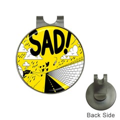Have Meant  Tech Science Future Sad Yellow Street Hat Clips With Golf Markers