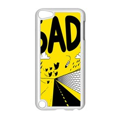 Have Meant  Tech Science Future Sad Yellow Street Apple Ipod Touch 5 Case (white) by Mariart
