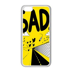 Have Meant  Tech Science Future Sad Yellow Street Apple Iphone 5c Seamless Case (white) by Mariart