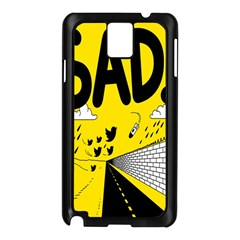 Have Meant  Tech Science Future Sad Yellow Street Samsung Galaxy Note 3 N9005 Case (black) by Mariart