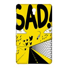 Have Meant  Tech Science Future Sad Yellow Street Samsung Galaxy Tab S (8 4 ) Hardshell Case  by Mariart