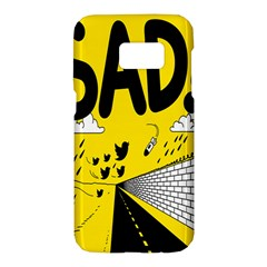 Have Meant  Tech Science Future Sad Yellow Street Samsung Galaxy S7 Hardshell Case