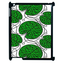 Leaf Green Apple Ipad 2 Case (black) by Mariart