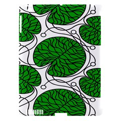 Leaf Green Apple Ipad 3/4 Hardshell Case (compatible With Smart Cover) by Mariart