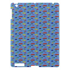 Miniature Car Buses Trucks School Buses Apple Ipad 3/4 Hardshell Case by Mariart