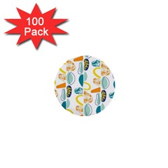 Pebbles Texture Mid Century 1  Mini Buttons (100 Pack)
